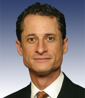 One of the less compromising photos of Anthony Weiner available on the Internet. Photo credit: U.S. Congress.