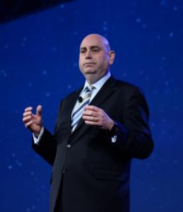 Mark Boxer speaks at PegaWORLD 2015.