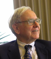 Warren Buffet, chairman and CEO, Berkshire Hathaway.