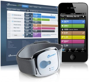 Bodymedia armband used by Cigna to help members control diabetes.