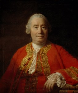 David Hume by Allan Ramsay, 1766.