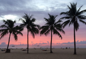 Sunrise at Lago Mar, site of Latin American Insurance IT Executive Summit. (Click to enlarge.)