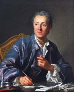 "Denis Diderot, prominent ""philosophe"" of the French Enlightenment."