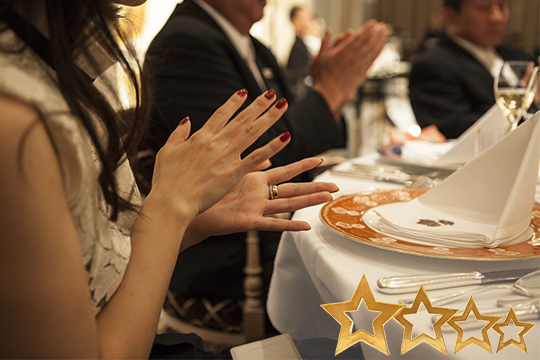 Awards Dinner with Stars