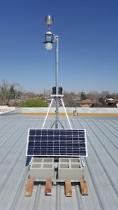 Understory RTi weather station deployed in Denver. Source: Understory. (Click to enlarge.)